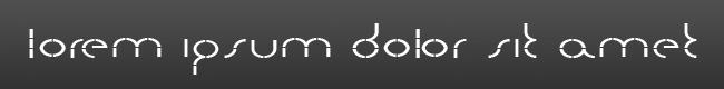 Quarters-font