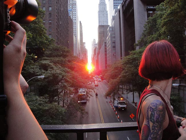 the-full-sun-glowed-on-july-11-2010-looking-out-from-tudor-city-bridge-above-42nd-street-and-1st-avenue